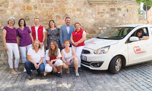 Das Team der AWO Sozialstation